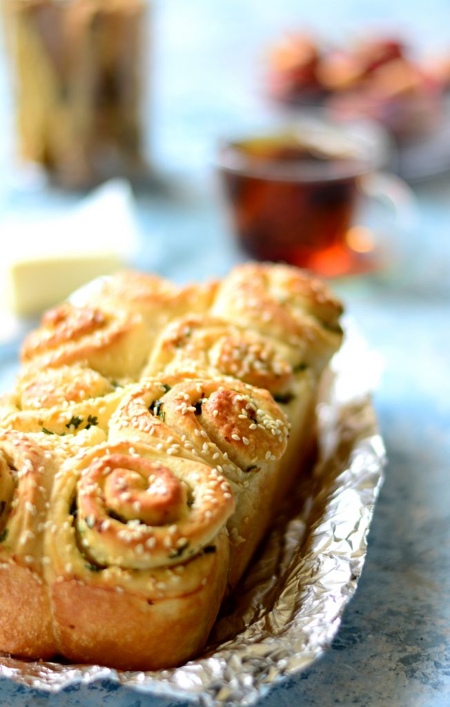 Garlic Pull apart rolls 3