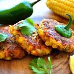 Corn and Jalapenos fritters