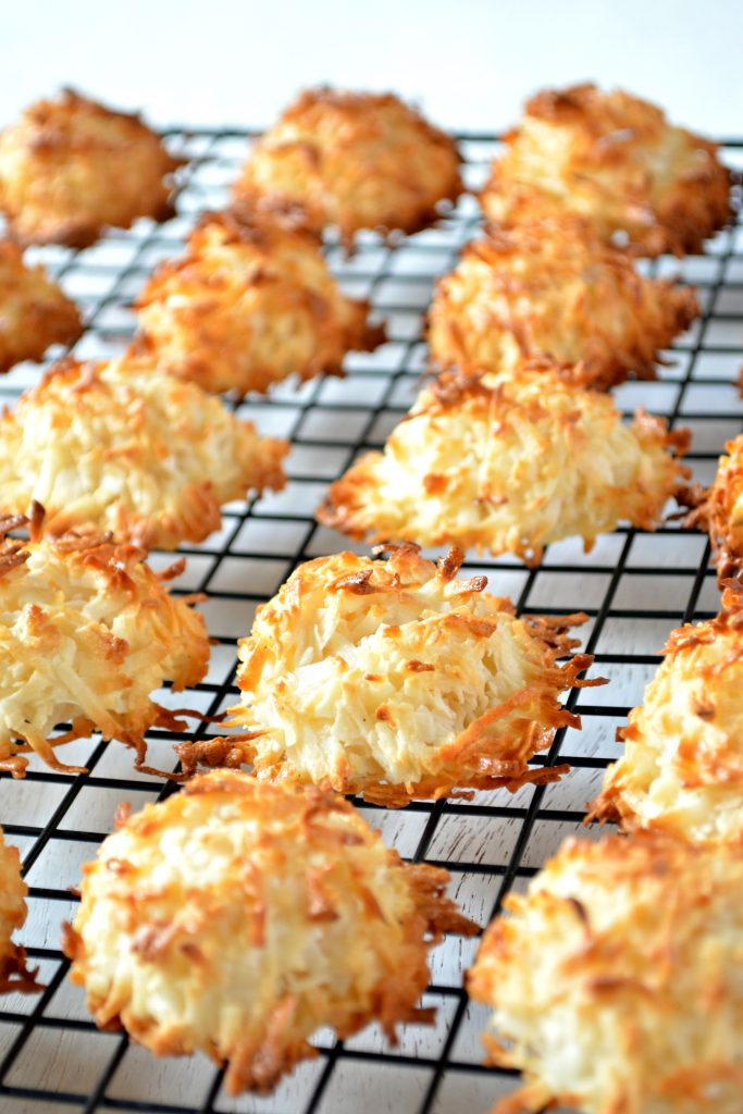 Coconut Macaroons baked