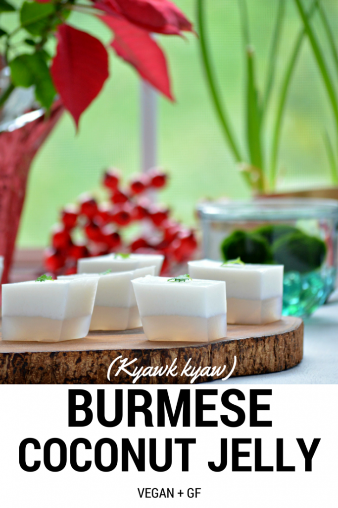 Burmese Coconut Jelly pinnable