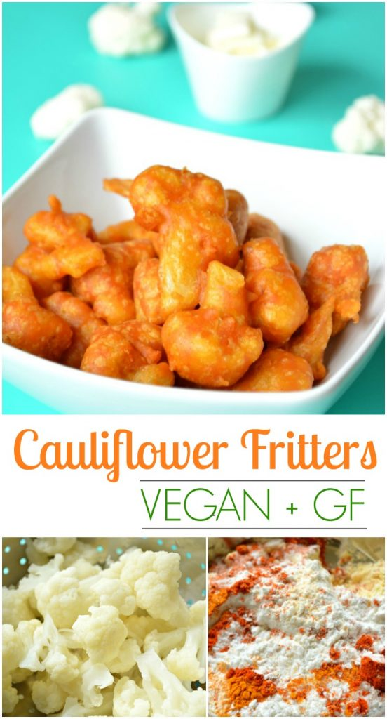 Cauliflower Fritters Pin