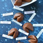 Chocolate Fortune cookies