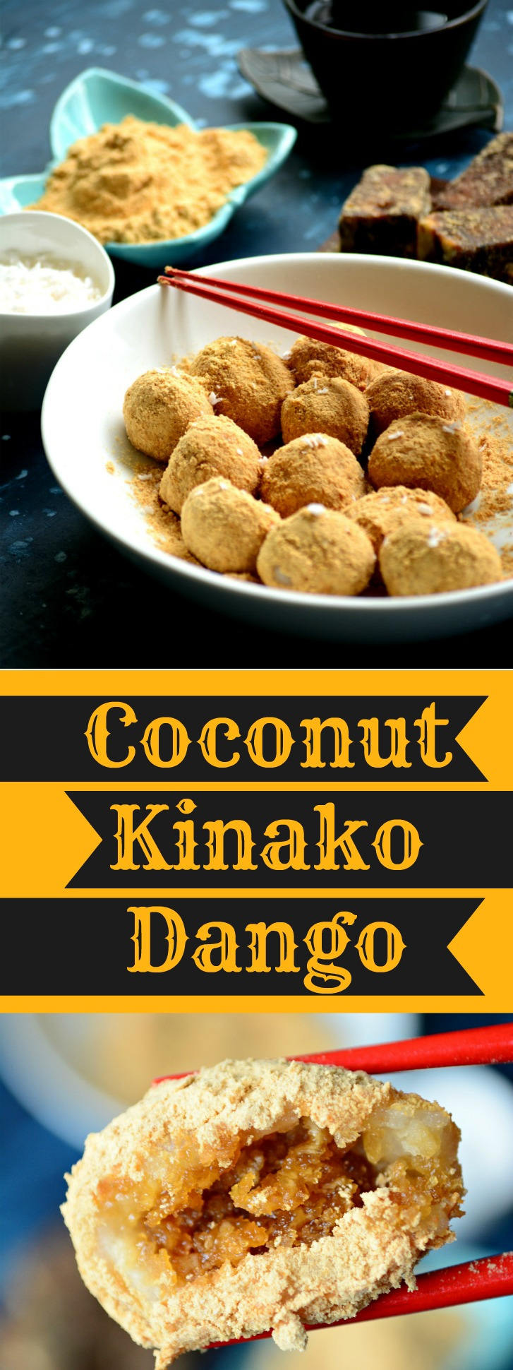 Coconut Kinako Dango Pin