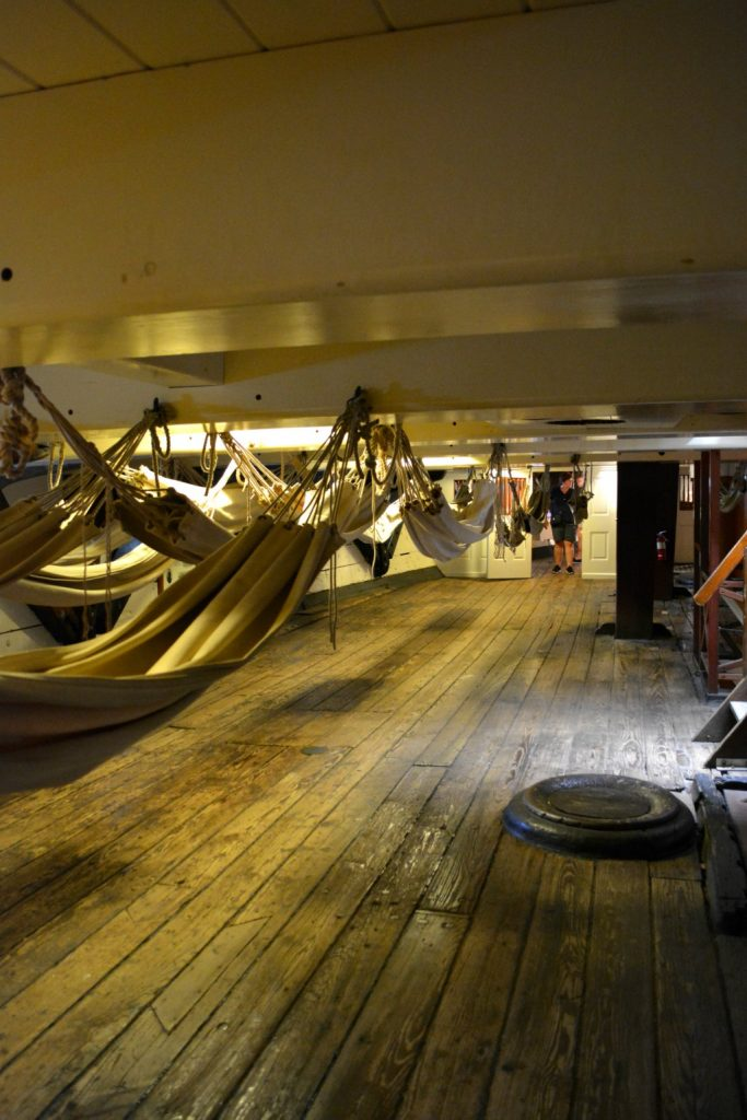 USS Constellation Berth deck Baltimore