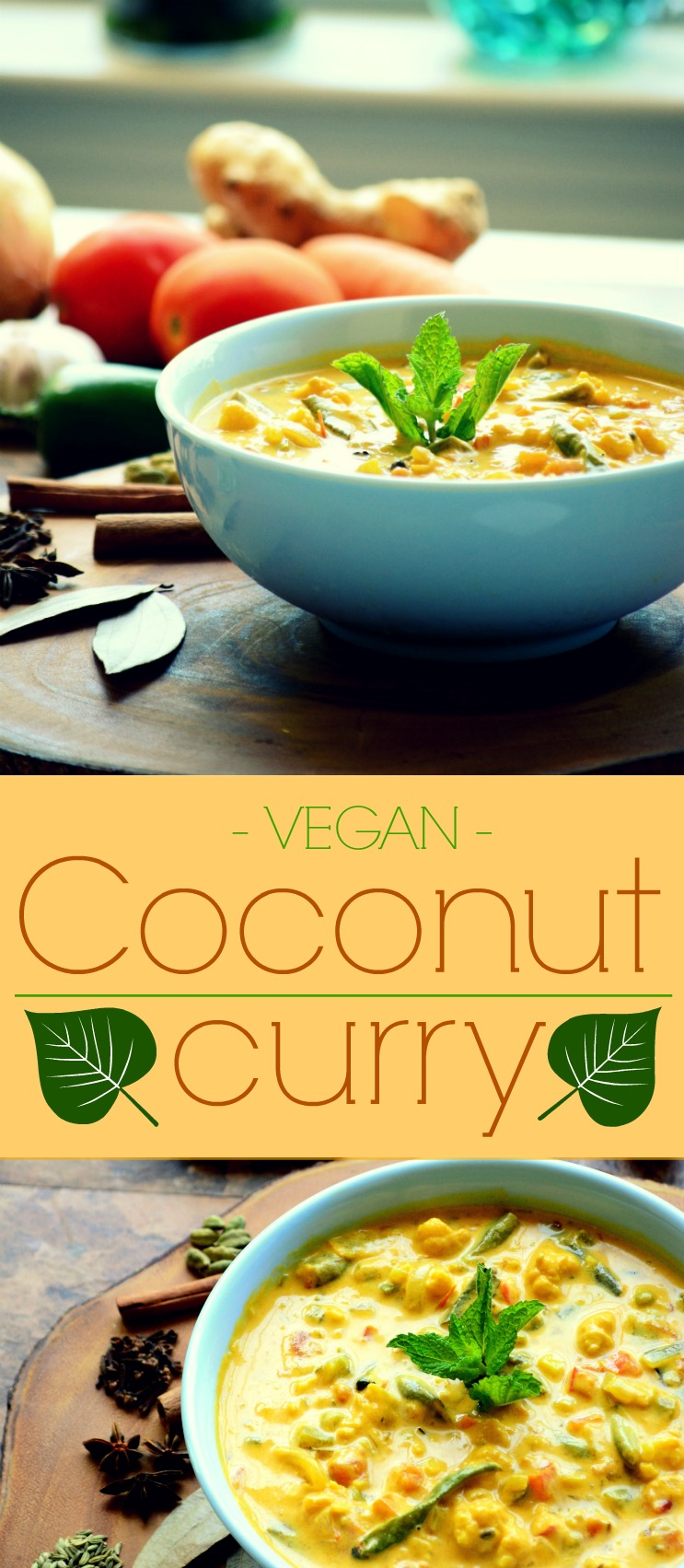 Vegan Coconut Curry Pin