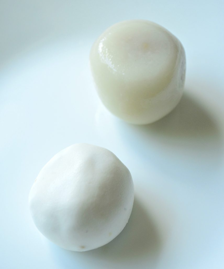 cooked vs raw dango
