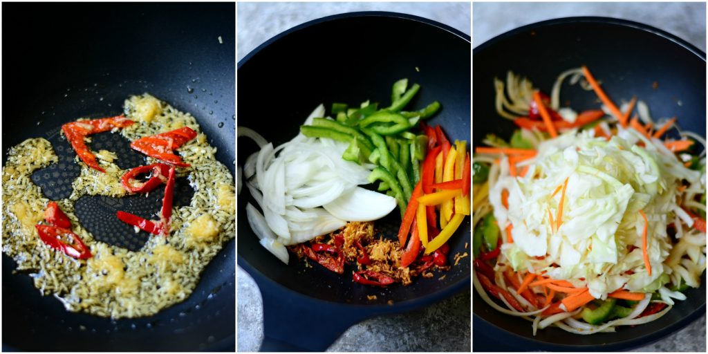Noodles Steps Collage 1