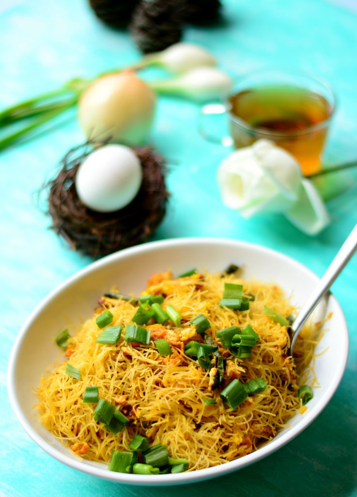 Stir Fried Egg Semiya