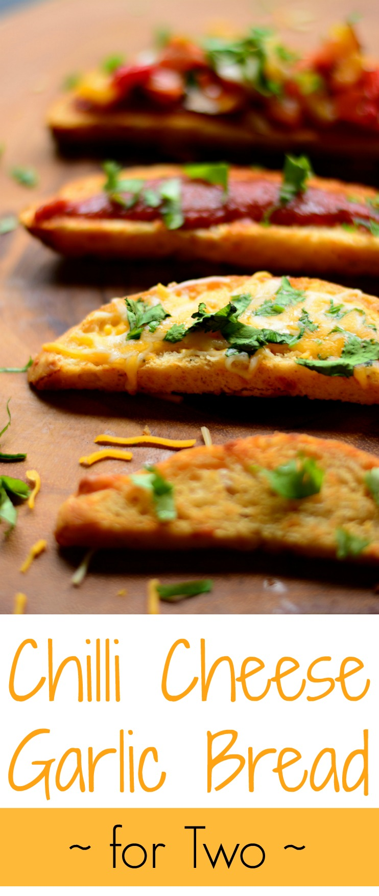 Chilli Cheese Garlic Bread For Two Pin