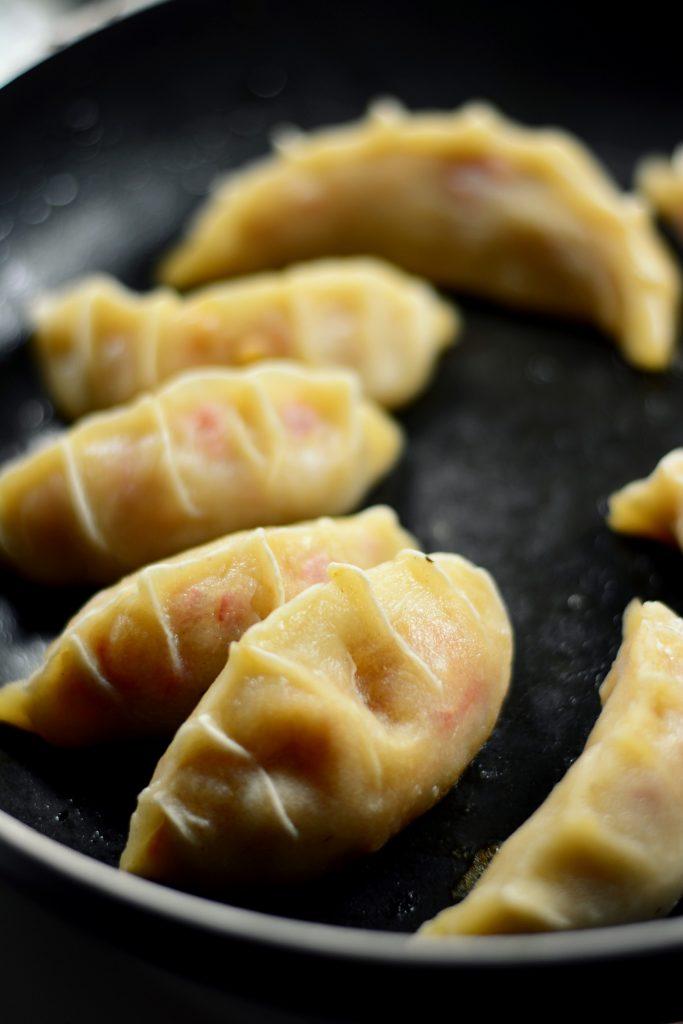 Cooked Vegetarian Potstickers