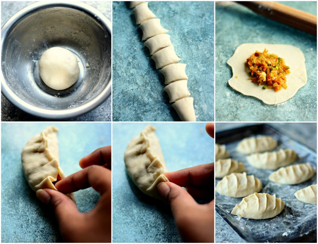Potstickers shaping
