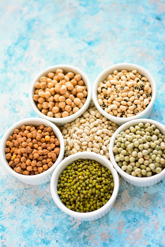 Legumes make for an excellent, healthy, protein-rich snack!