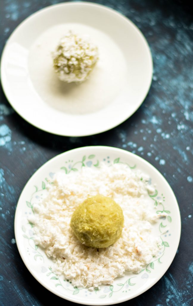 These Sweet Potato Coconut Balls are steeped in childhood memories & are the simplest, most nutritious dessert I can ever think of! VEGAN+GF!