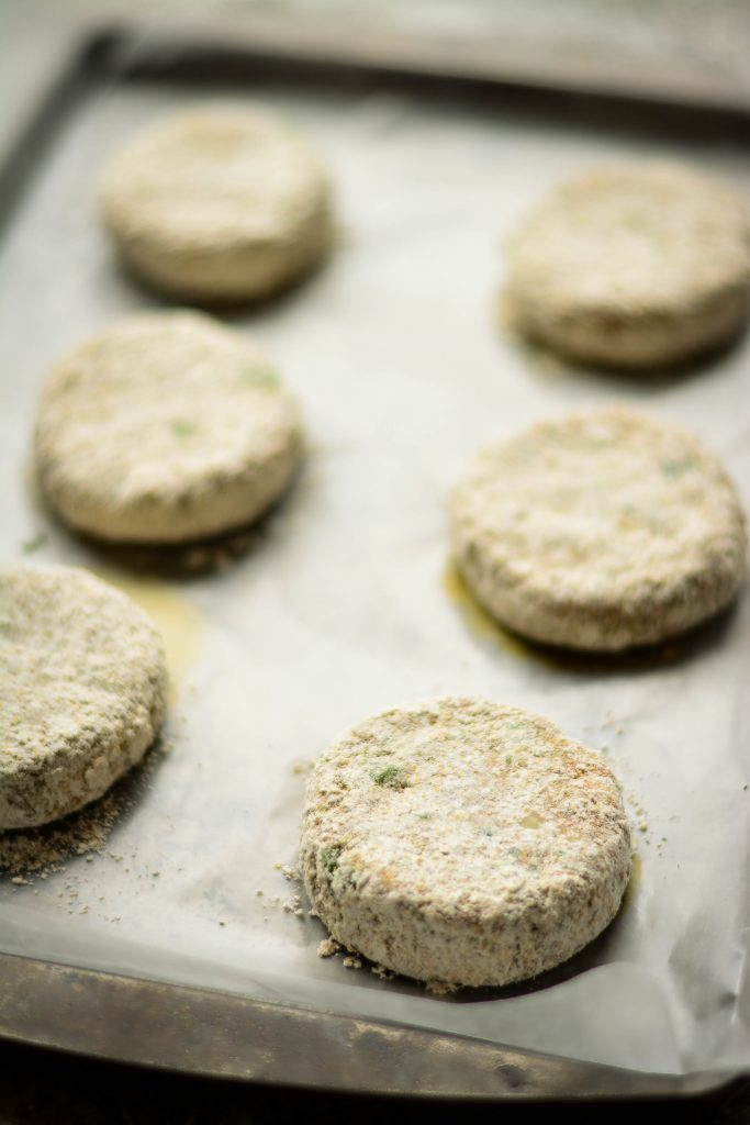 These Veggie Cutlets are deceptively healthy with a good dosage of flaxseed and oats. Besides, it's VEGAN and Gluten-free too!!