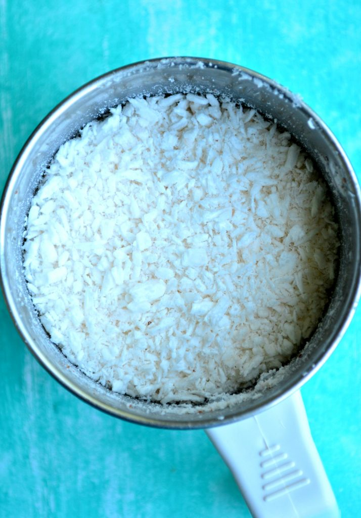 Grated Coconut without grater