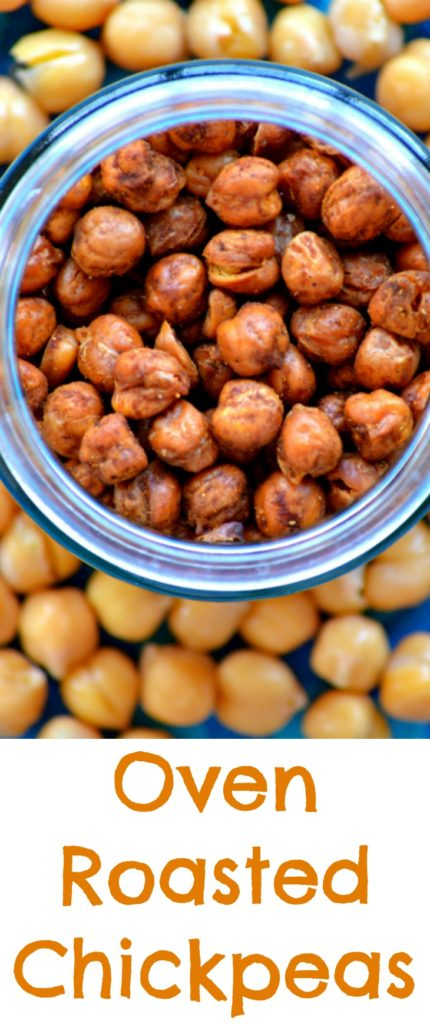 Roasted Chickpeas Pin