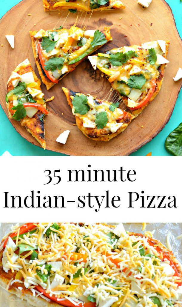 Indian Style Pizza Collage3 Worked