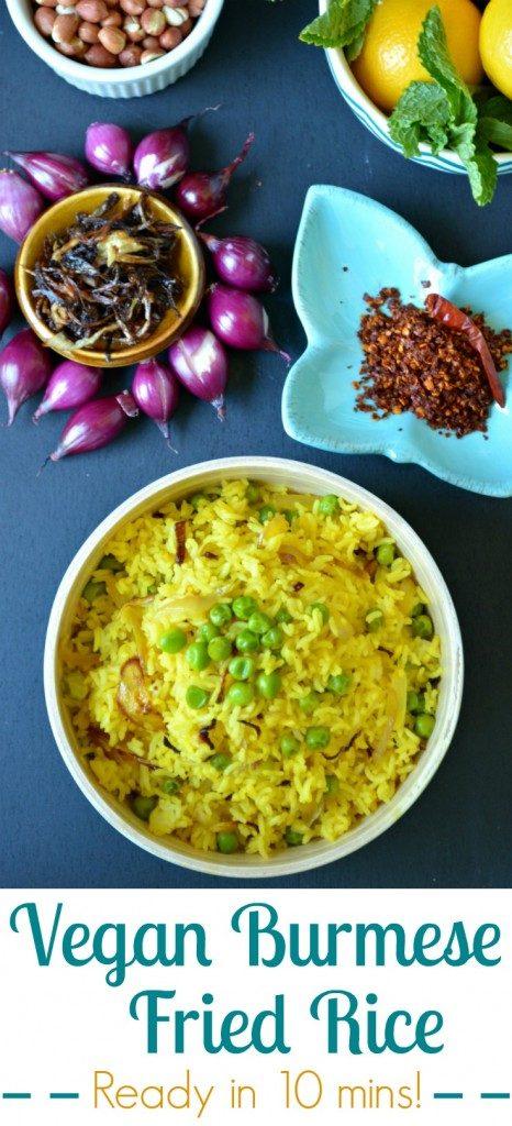 Burmese Fried Rice pin