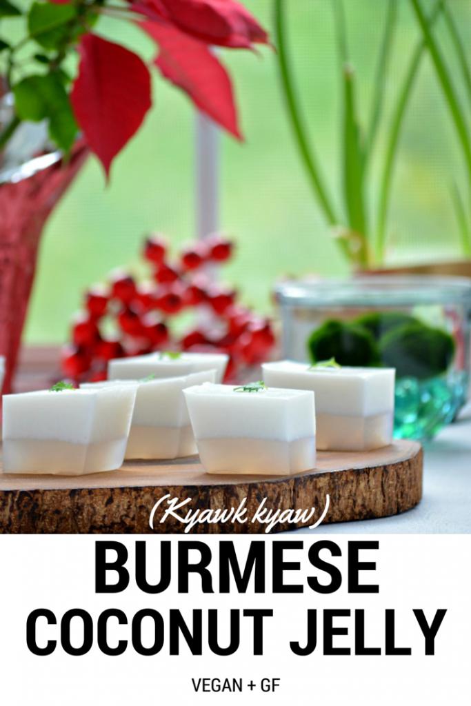 Burmese Coconut Jelly pinnable
