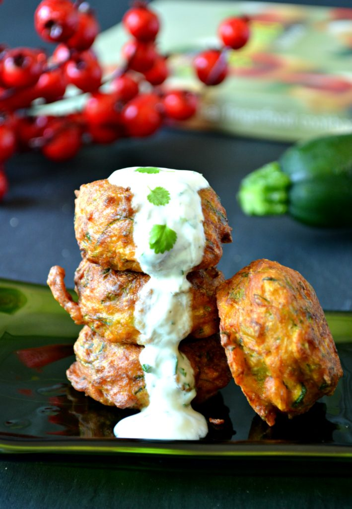 VEGAN Zucchini fritters make an excellent appetizer that comes together super quick and is extremely delicious!