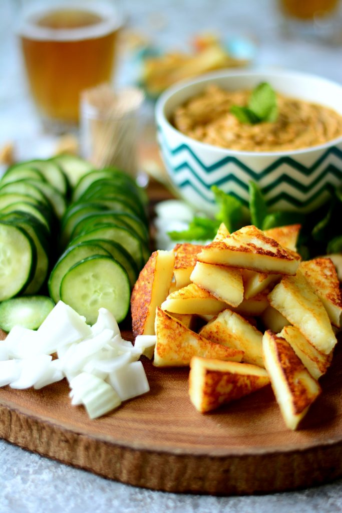 Cucumber Paneer w Cashew Curry