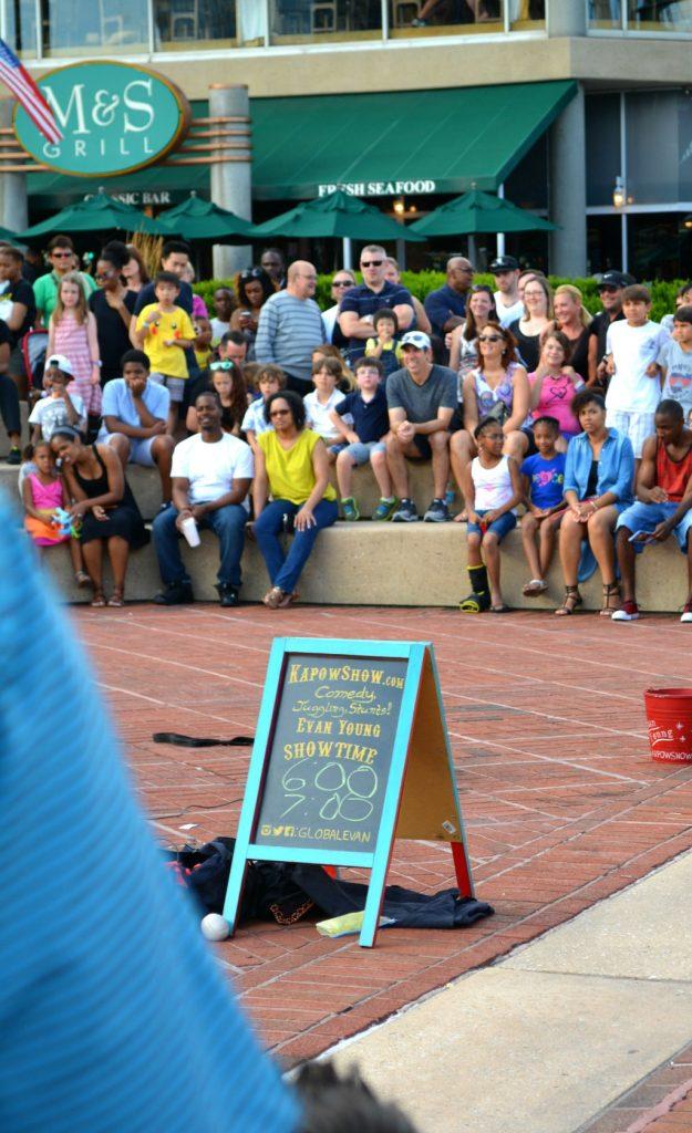 Baltimore Inner Harbour street performances