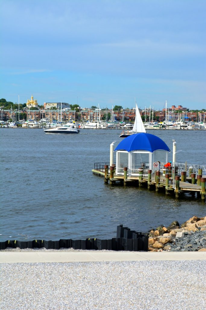 Baltimore Immigration Memorial Piers