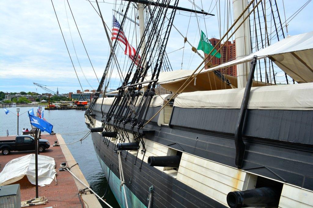 USS Constellation Baltimore Inner Harbor