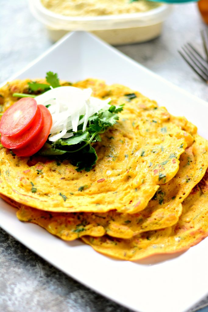 Chickpea Pancakes 2