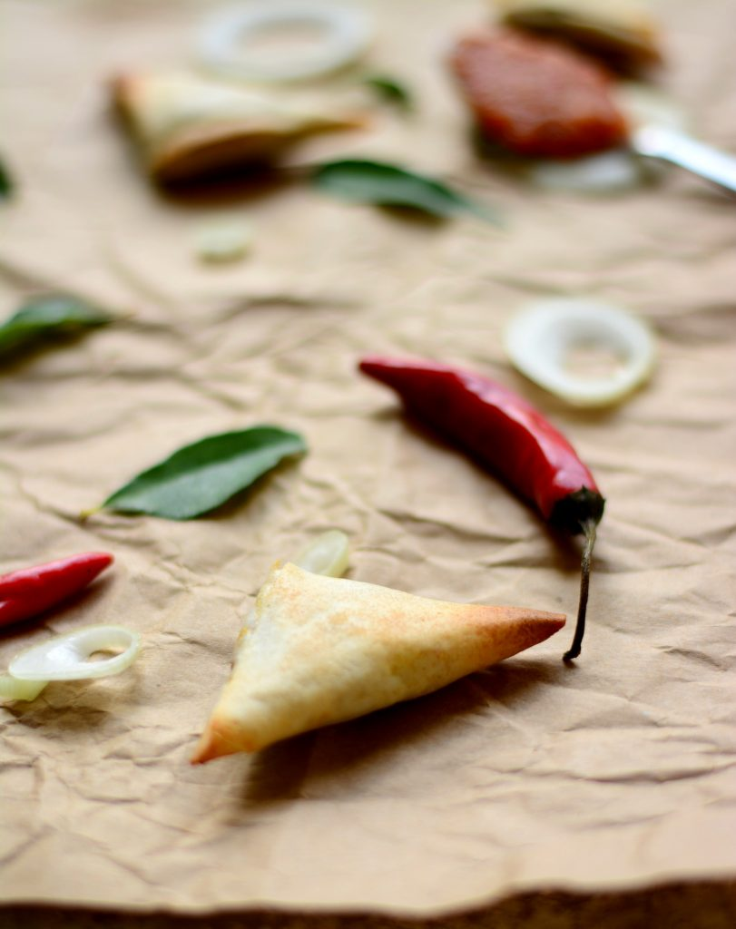 Mini Baked Onion Samosa 3