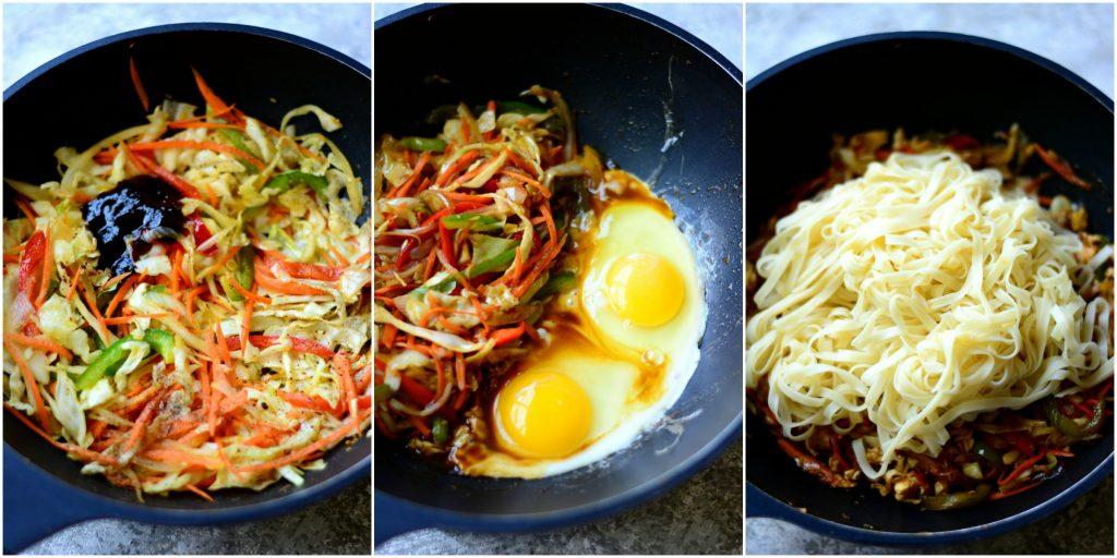 Noodles Steps Collage 2
