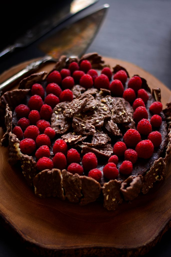 This Holiday season warrants something unique to go with the usual traditions - like this Chocolate Torte w/ Chocolate Wavy Lays Potato chips!